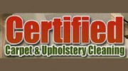 Certified Carpet & Upholstery Cleaning