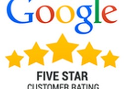 % star Customer Google Reviews