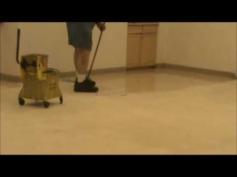 Strip and Wax Janitorial Service Floor Cleaning