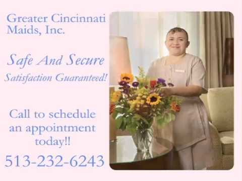 Greater Cincinnati Maids Inc. | Cincinnati House Cleaning Service