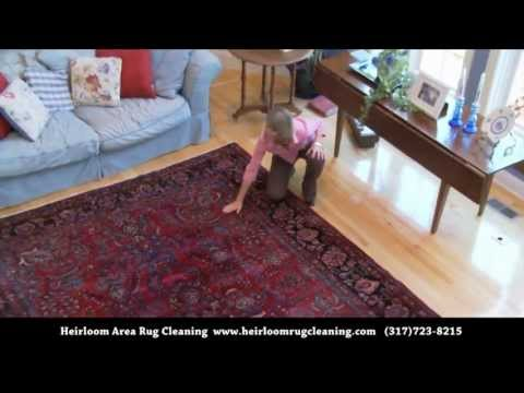 Our Area Rug Cleaning Process: Inspection & Delivery