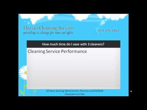 How do you Save Time with Three Cleaners?