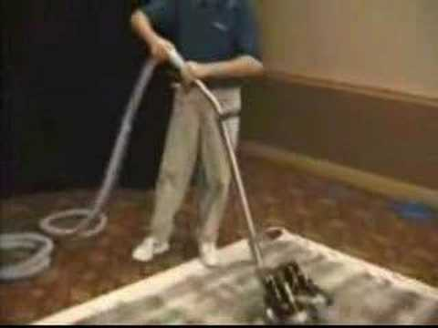 Rotovac Carpet Cleaning Equipment Demonstration